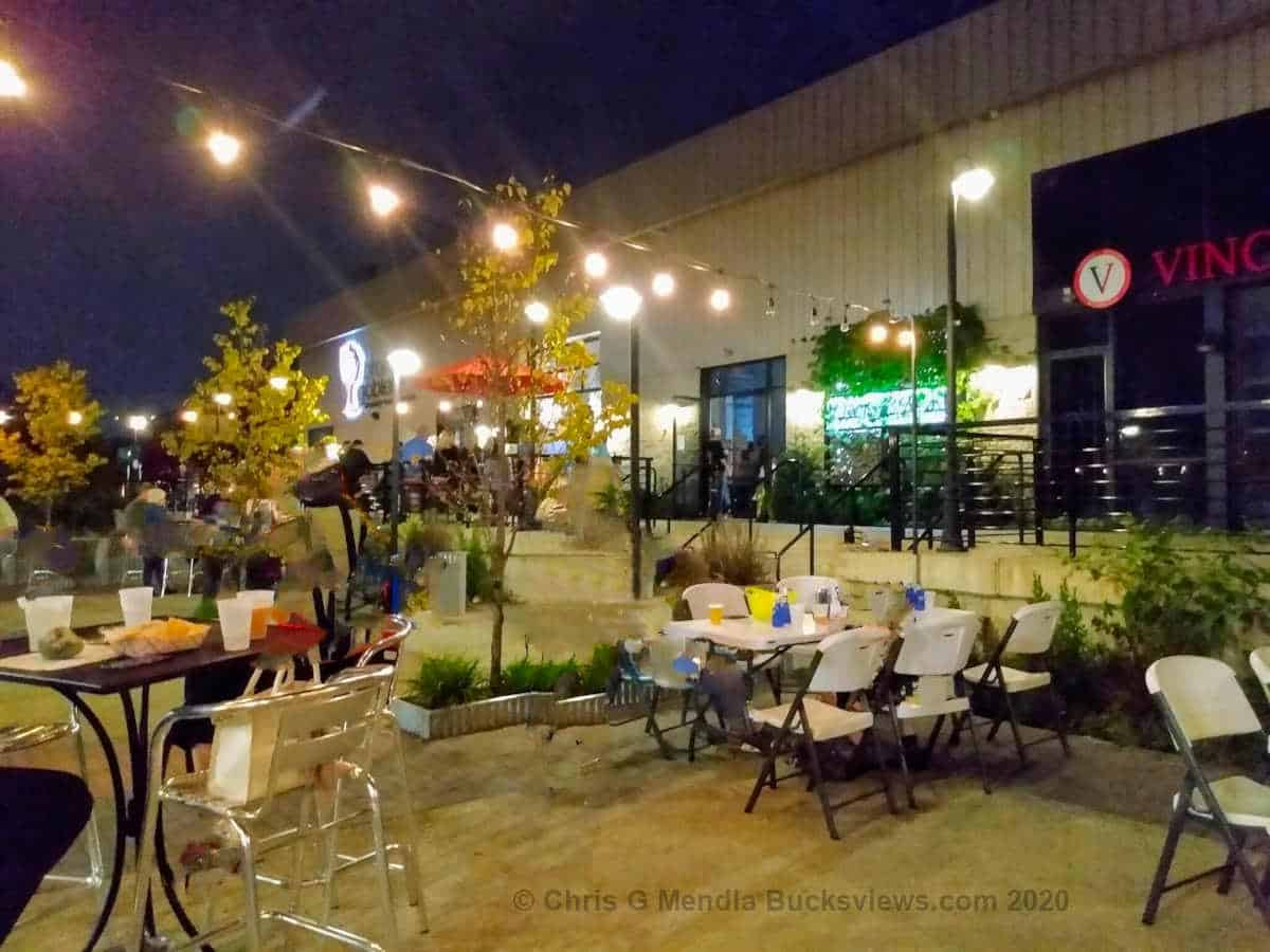 Broken Goblet Brewing Patio and Biergarten in Bensalem PA. Bucks County