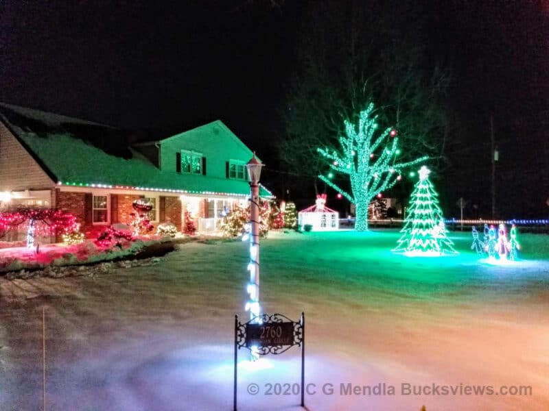 2020 Terwood road Christmas Lights